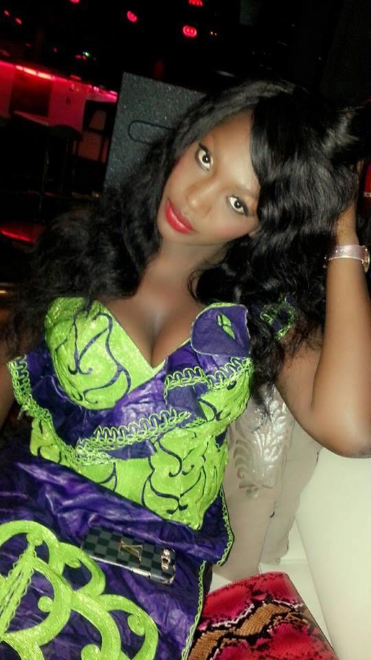 Le mannequin Samira Nicki Diop, le jour de la Korité a...