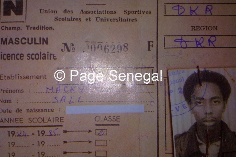 photo page senegal