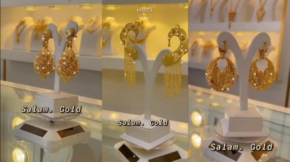 Inauguration de la bijouterie Salam Gold chez Cheikh Ndiaye à Pikine une nouvelle vision de l'or.