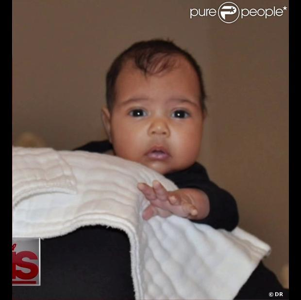 North West : Première photo de la fille de Kim Kardashian et Kanye West