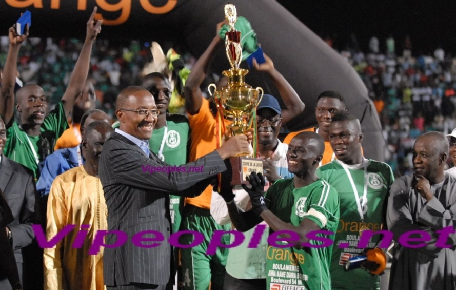 Coupe de la ligue: Casa-sport remporte le trophée devant l'union sportive de Gorée