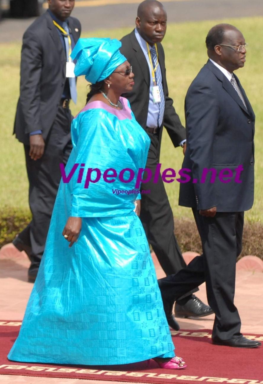 Aminata Tall et sa belle tenue