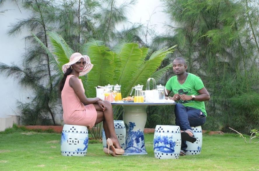La Diva Coumba Gawlo et Pape Cheikh Diallo en mode été!