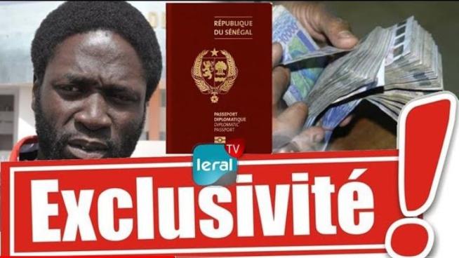 URGENT Kilifeu Y'en à marre en flagrant délit d'escroquerie de visa, faux passeport diplomatique au