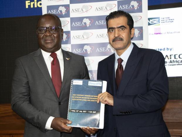 Transactions entre bourses africaines : Un partenariat signé entre l'Asea et DirectFN