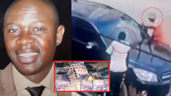 URGENT: Deux laveurs volent 3millions dans la voiture de Papa Gadio ex du Ram Dann de Thione Seck regardez comment la vidéo de surveillance les a trahi.