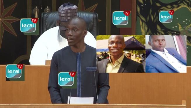 Voici l'image des deux députés mouillés Boubacar Biaye et Mamadou Sal