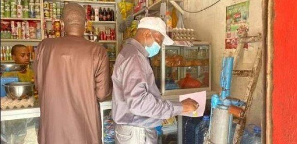 Blocage des prix : 6 tonnes de sucre saisies, 14 commerçants grossistes interpellés à Pikine