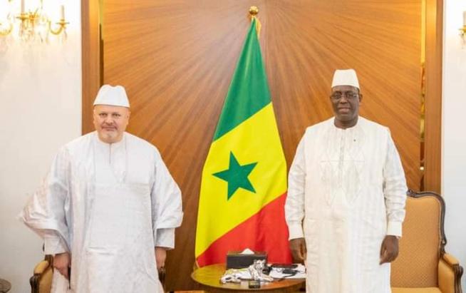 Le Président Macky Sall reçoit le Procureur de la CPI Karim KHAN