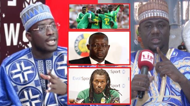 Équipe nationale football Serigne Issa Ndiaye défie Moustapha Drame meune n'a sampe equipe bi ci...