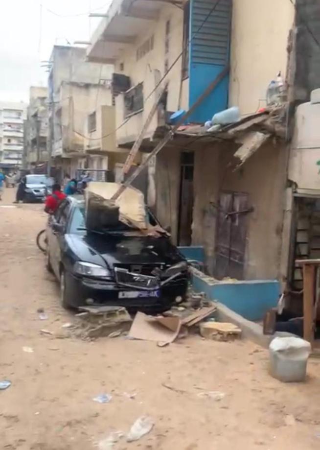 Commune de Biscuiterie : calvaire et menace planent sur les habitants quartier riverain du Marché « Nguélaw »