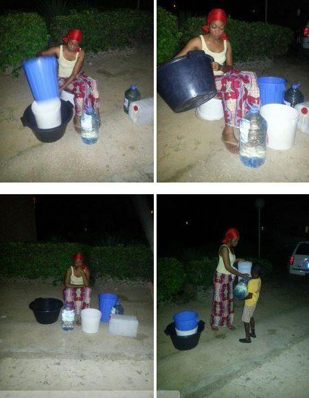 (5) Photos: La star Aby N'dour en détresse, elle est à la recherche de l'eau