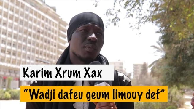 """Karim xrum xakh à Sonko """" Mouy melni fasse bou reuthie nako wa Pastef bagna teeye reek…"""""""
