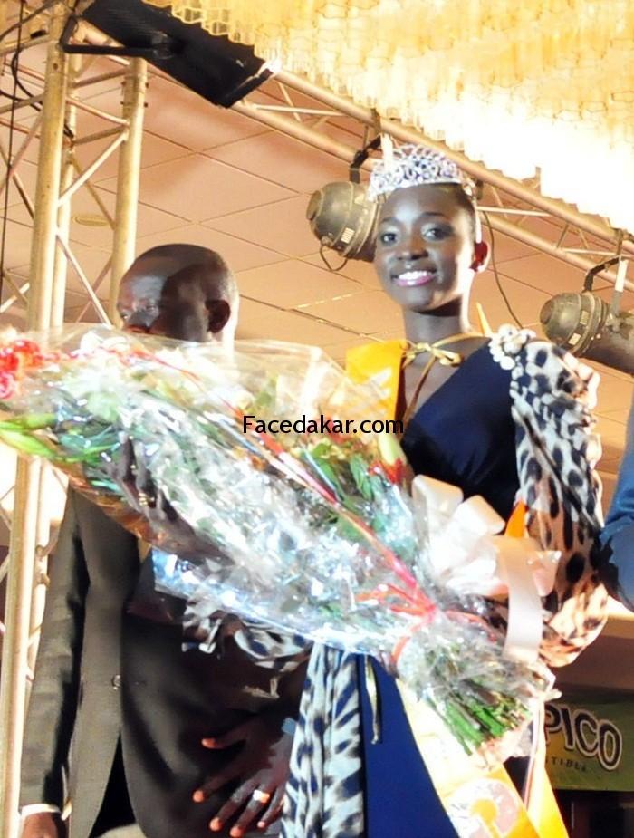 Marie Thérése Ndiaye, une miss Sénégal plutôt tmide!