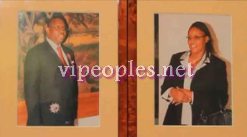 Macky Sall ouvre son album photo et commente: «  Marème Faye Sall fait mon bonheur familial […]»