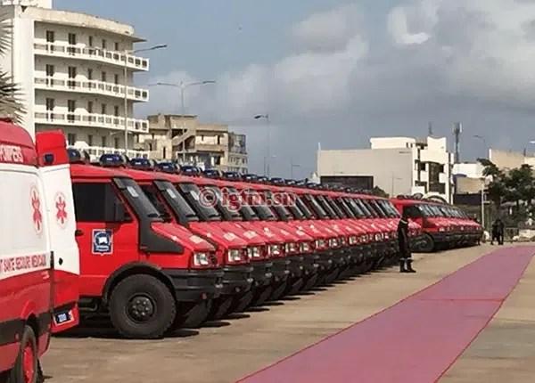 Magal Touba : 400 soldats du feu et 70 véhicules d'intervention déployés
