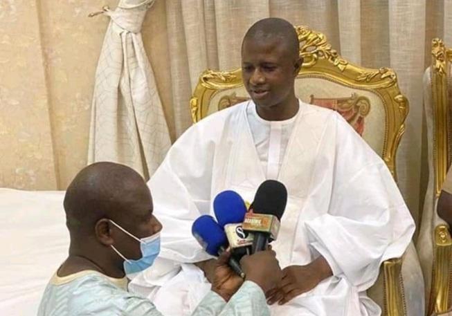 Cérémonie officielle / Grand Magal de Touba 2021: Antoine Félix Diome réitère les ambitions du Chef de l'Etat Macky Sall