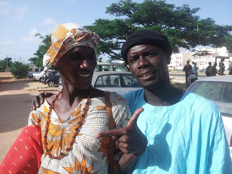 Le duo « Marie Ndiago et bour»