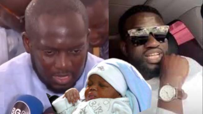 Urgent Ndiogou Mbaye Ngouda Amina donne le nom de son fils au patron de ABC Aziz Ndiaye