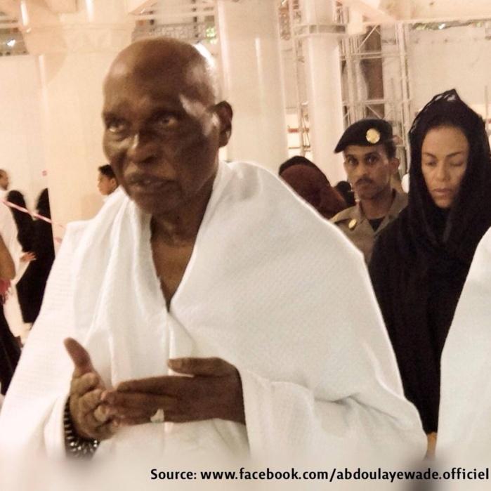 Pèlerinage à la Mecque: Me Abdoulaye Wade et sa fille Sindiély en terre sainte