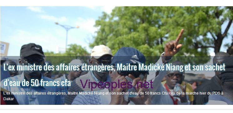 La propriétaire de VIPeoples.net vend son site internet à des sénégalais d'Europe