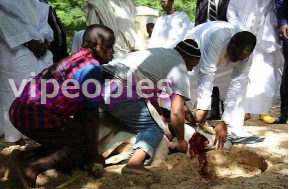 Le Président Macky Sall a égorgé son propre mouton de Tabaski!