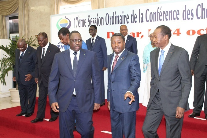 Les images de l'ouverture de la 17ème session ordinaire de la conférence des chefs d'État et de gouvernement de l'Union Economique et Monétaire Ouest Africaine (Uemoa)