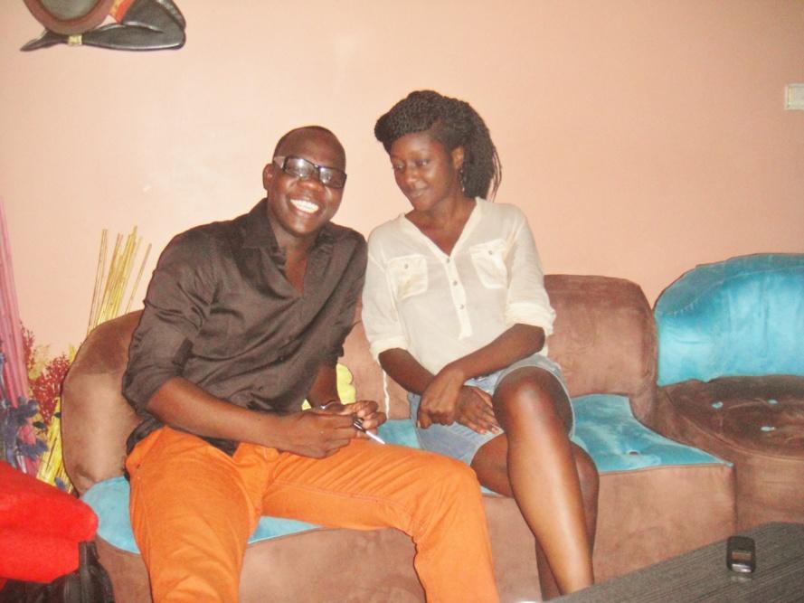 Abdou Guité Seck au Buzzz avec Gabrielle Goudiaby