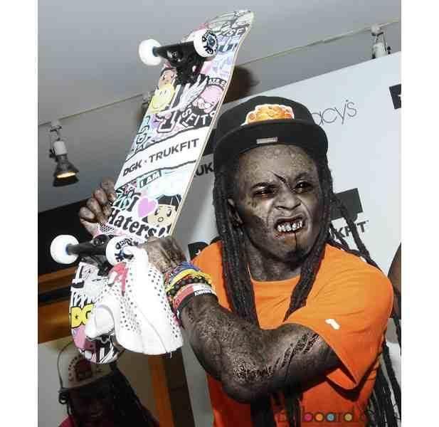 Lil Wayne fait encore le BUZZ le jour de l'Halloween