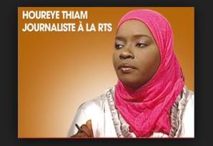 """Des agents de la RTS: """" Mya Guèye se marginalisait elle même, sinon comment expliquer la présence de Hourey Thiam ? """""""