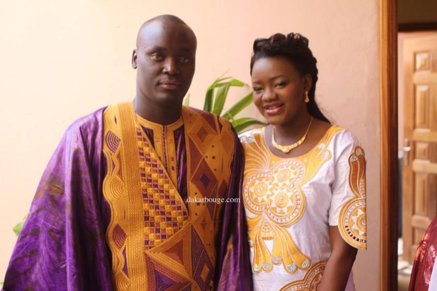 [ PHOTOS] Le baptême de l'animatrice Fama et de son mari