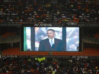 À Soweto, Obama héritier de Mandela