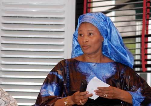 Le maire de Podor, Aïssata Tall Sall, ''Sur les traces de Bamba'