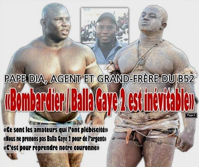 LUUTE: Le 15 Juin, Lion de Guédiawaye, Roi des arènes va affronté le B52 de Mbour