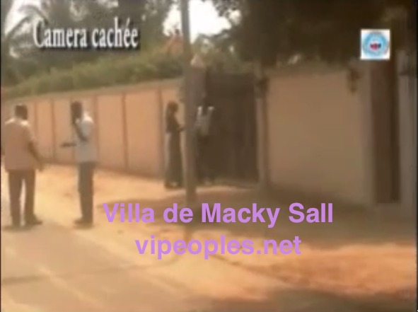 Pour confirmer leur long compagnonnage , Macky Sall et Souleymane Ndéne Ndiaye possèdent une villa dans la même résidence