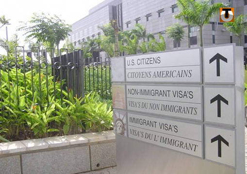 «SUR 30.000 DEMANDES DE VISA, PLUS DE 75% ONT REÇU UN AVIS FAVORABLE»