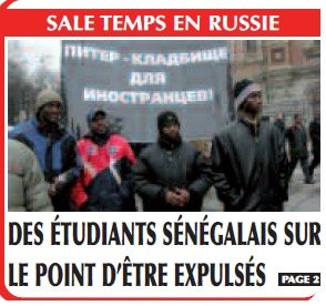 Des étudiants sénégalais sur le point d'être expulsés de Russie