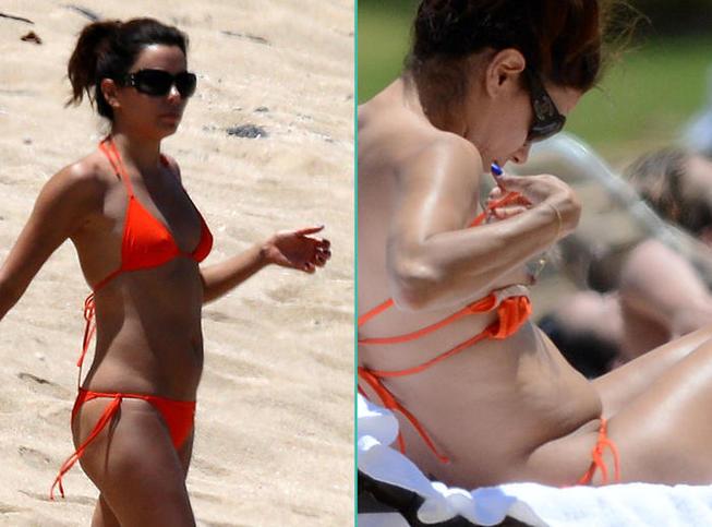 PHOTOS Eva Longoria, Madonna… Ces stars qui en montrent plus que prévu à la plage