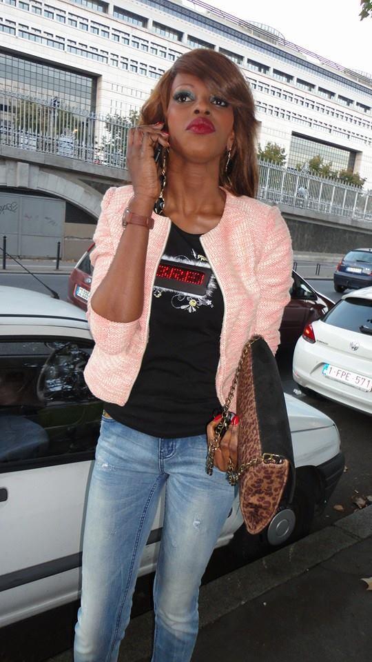 La belle Aicha Sarr