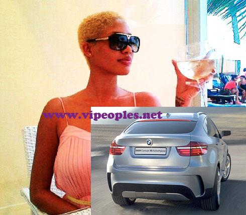 Le mannequin Adja Diallo roule désormais en BMW X6 qui coûte 45 millions de Fcfa