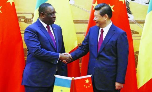 Accueilli tel un empereur: Macky Sall en Guest Star en Chine