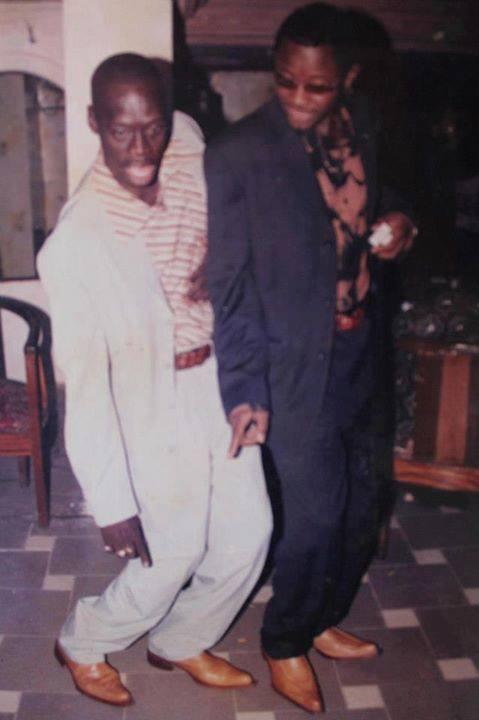 Zoom Photo: Ndongo Lo et son ami le danseur Djily Mbaye