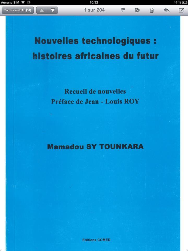 Mamadou Sy Tounkara en France pour la présentation de son livre