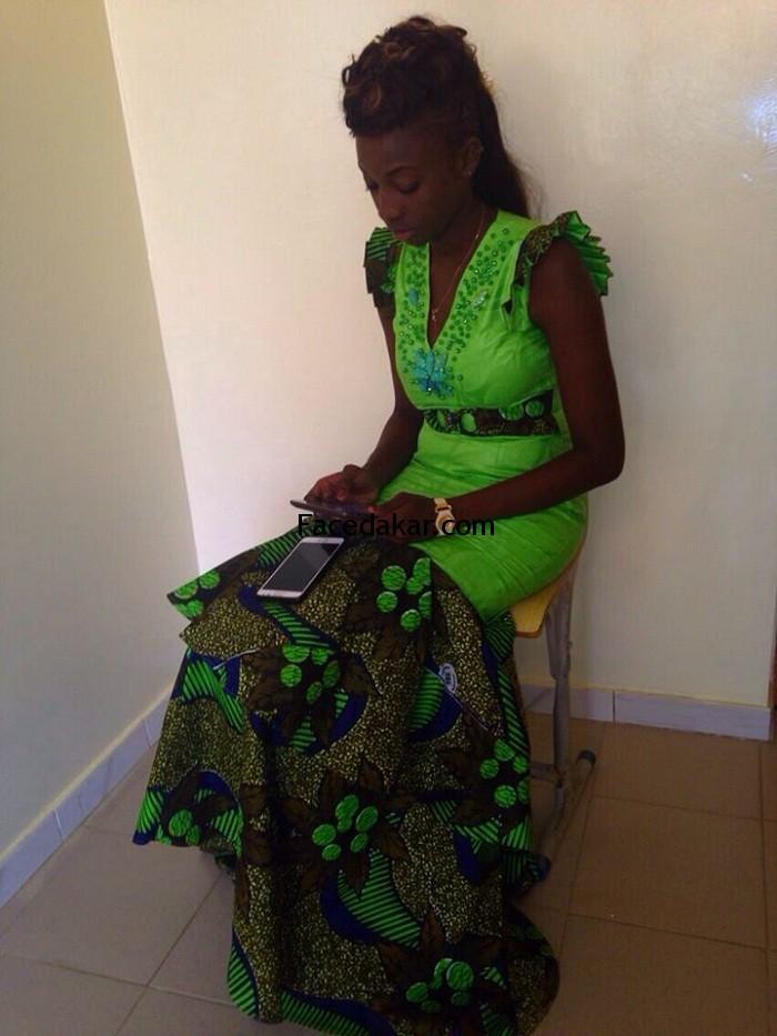 La Miss Sénégal Marie Thérèse N'diaye à la recherche de fond pour lutter contre le cancer du col de l'utérus et du sein