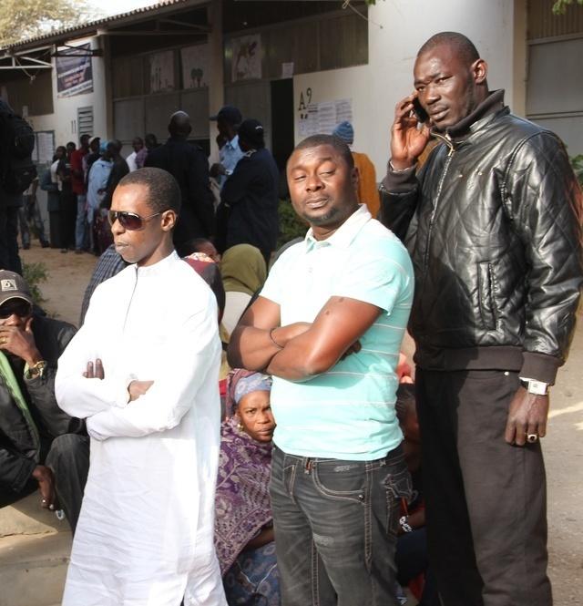 Cheikh Amar et Kader Ndiaye en lacoste