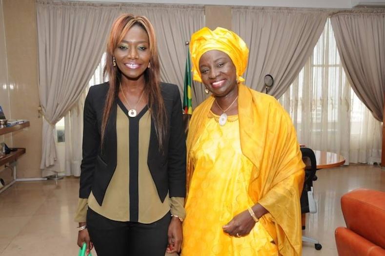 Mimi Touré et Coumba Gawlo Seck au Building administrative