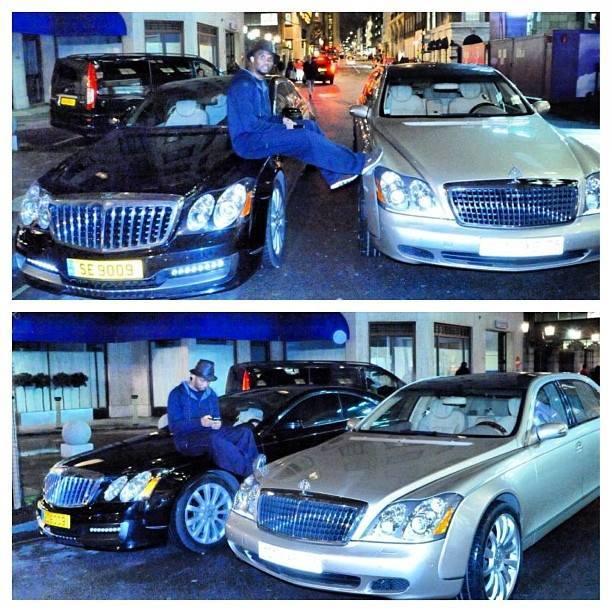 People: Samuel Eto amoureux de ses Mercedes