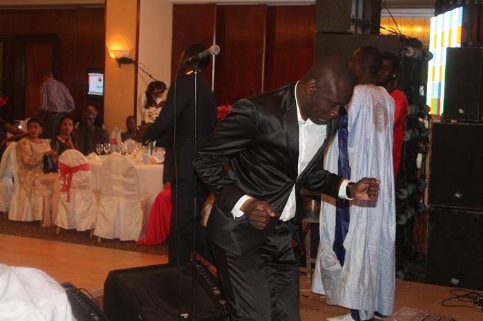 Pape Diouf réussit son pari : Faire danser les cadres de la SGBS !