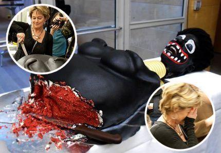 La ministre suédoise Lena Adelsohn Liljeroth mange un gâteau « femme noire à manger »
