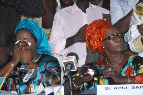 IMAGES - L´an 2 de Macky Sall, c´est aussi les larmes des hommes politiques